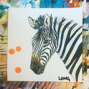 ZEBRA 5 AFFORDABLE ART