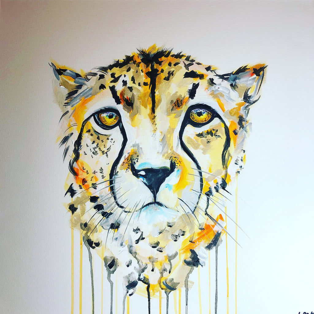 DAY15 #30minuteartchallenge CHEETAH