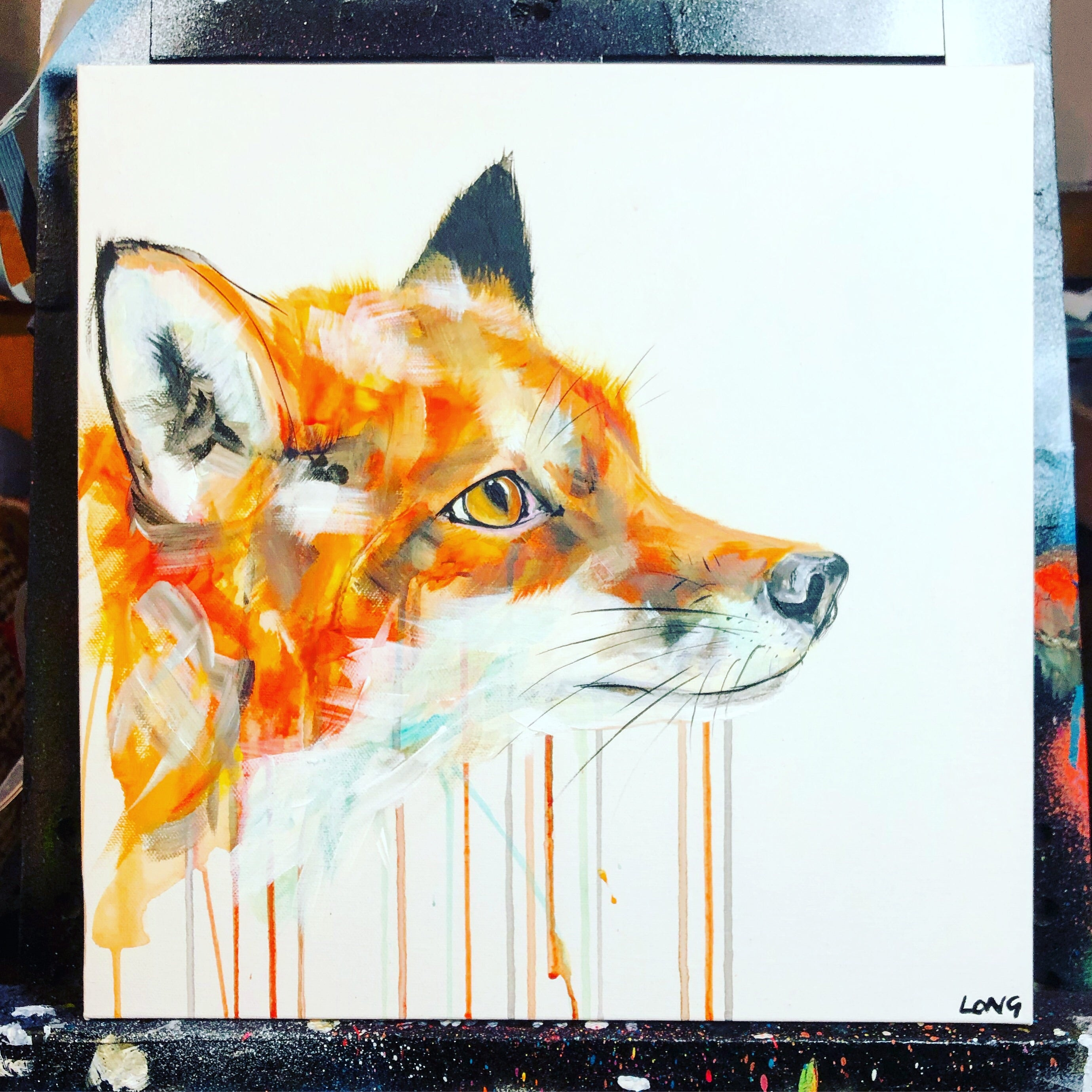 DAY31 #30minuteartchallenge FOX