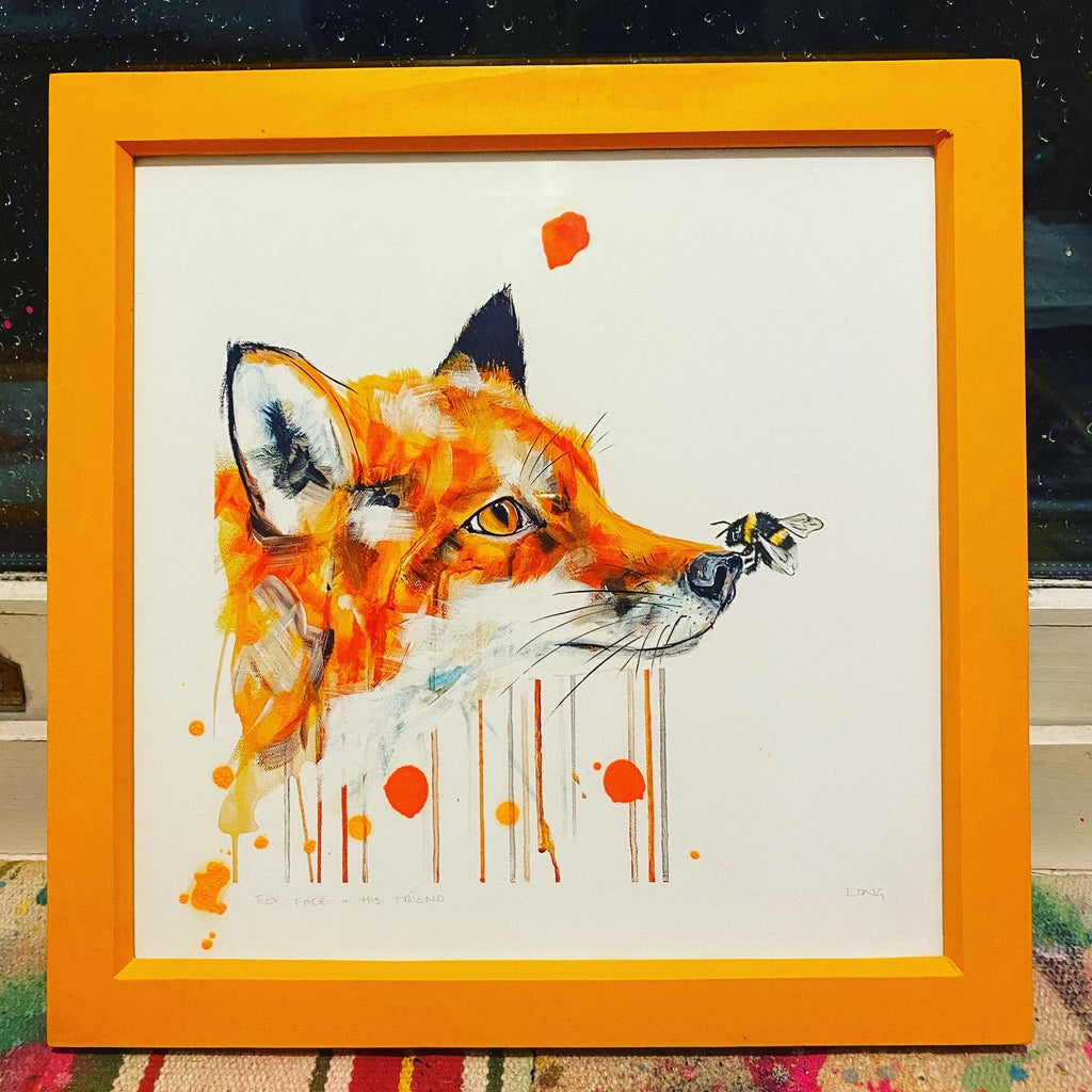 FOX FACE + HIS LITTLE FRIEND #1