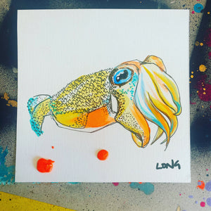 CUTTLEFISH AFFORDABLE ART