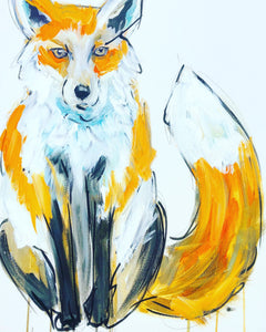 DAY19 #20minuteartchallenge FOX