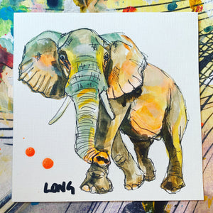 ELEPHANT AFFORDABLE ART