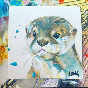 OTTER AFFORDABLE ART