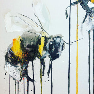 DAY38 #30minuteartchallenge BEES