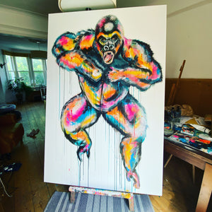 GORILLA COMMISSION + SHIPPING