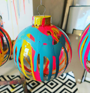 BAUBLES (Yellow, Pink and Blue)