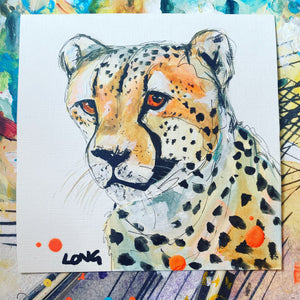 CHEETAH AFFORDABLE ART