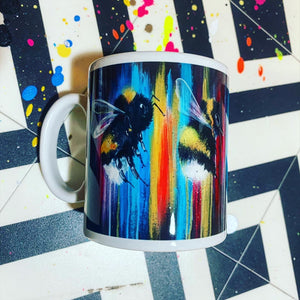 LIMITED EDITION HAND SIGNED DYING OUT IN A WORLD OF COLOUR MUG