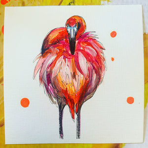 FLAMINGO AFFORDABLE ART