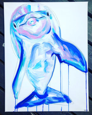 DAY18 #20minuteartchallenge DOLPHIN