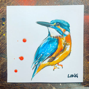KINGFISHER AFFORDABLE ART