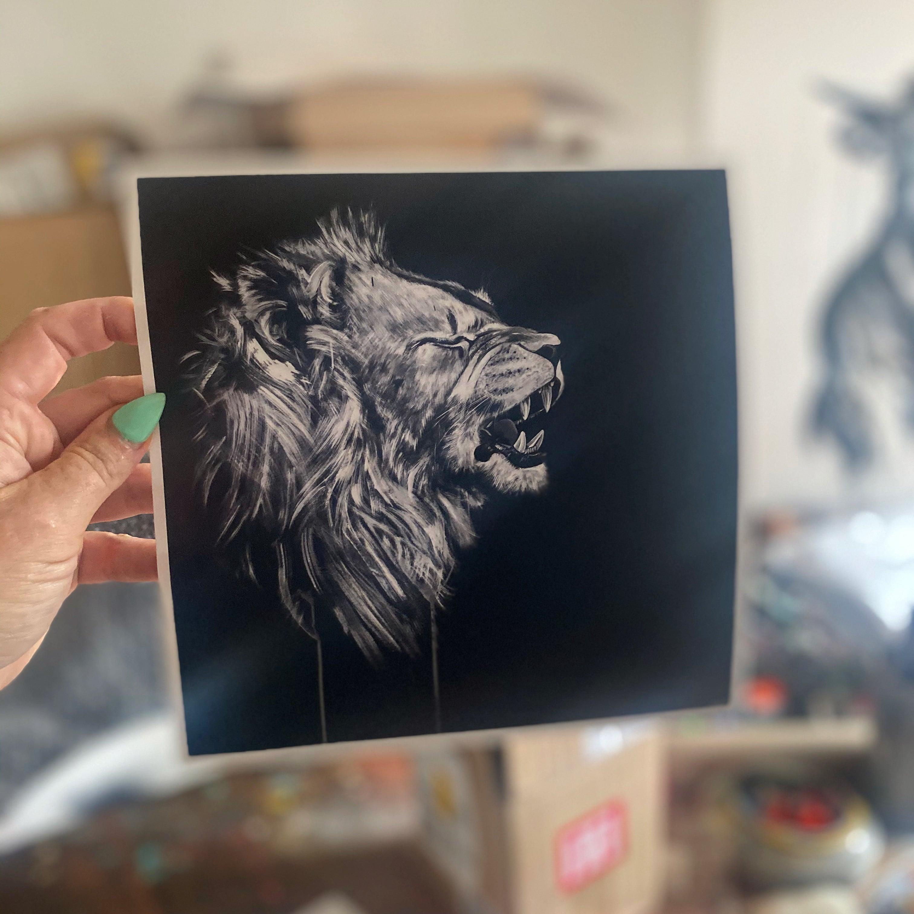 Limited Edition PRINT – THE MANE MAN