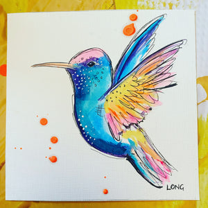 HUMMINGBIRD AFFORDABLE ART