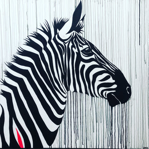 Limited Edition PRINT – THE STRIPED HORSE