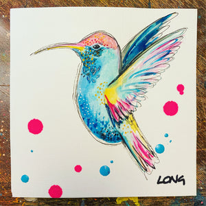 HUMMINGBIRD 3 AFFORDABLE ART