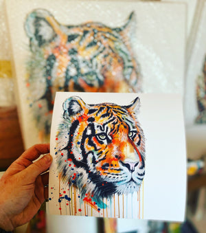 Limited Edition Giclée PRINT – TIGER KING