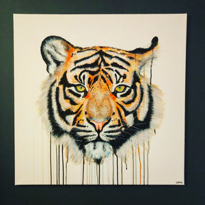 tiger eye painting sophie long art