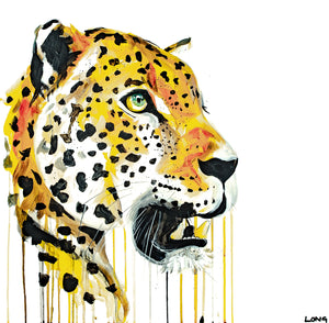 Limited Edition PRINT – LEOPARD 30