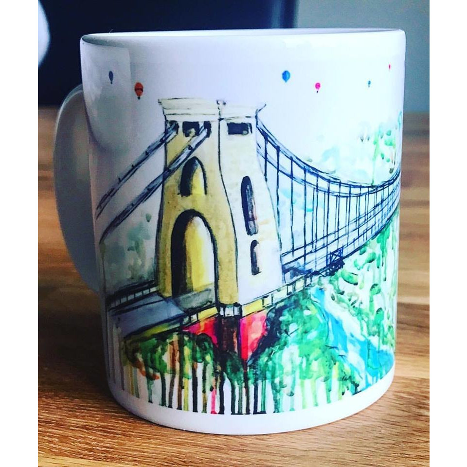 clifton suspension bridge mug sophie long
