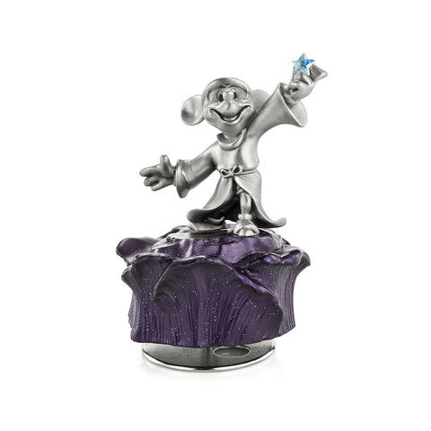 Limited Edition Sorcerer Mickey Hand Finished Disney Pewter Music Carousel Collection