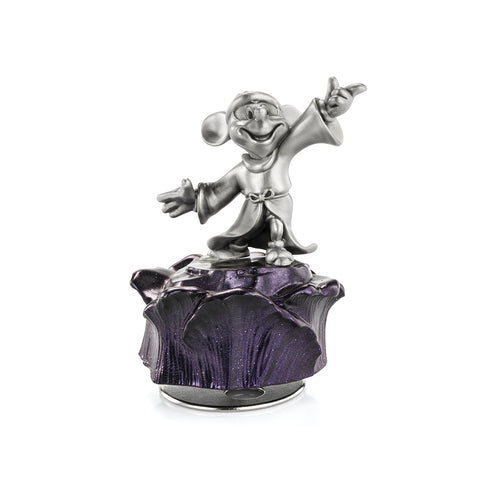 Sorcerer Mickey Music Carousel Hand Finished Pewter Disney Music Carousel Collection