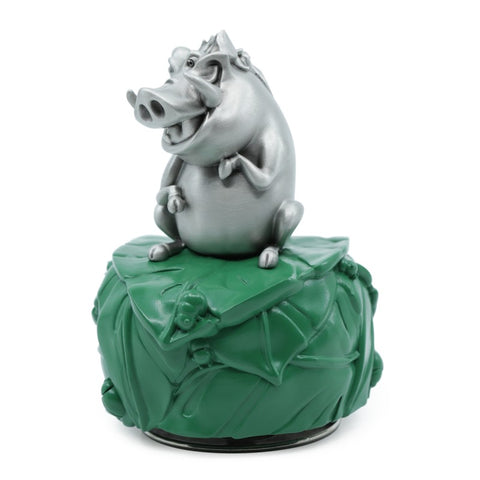 Timon and Pumbaa Music Carousel Pewter Hand Finished Disney Music Carousels Collection