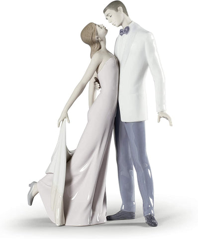 Lladro Happy Anniversary Porcelain Figure