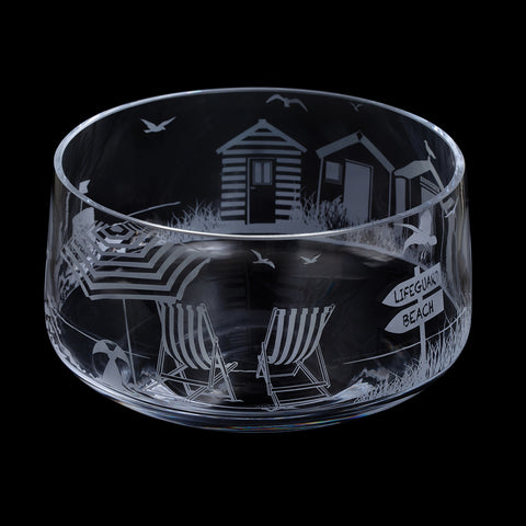 Dartington Crystal Aspect Seaside Bowl