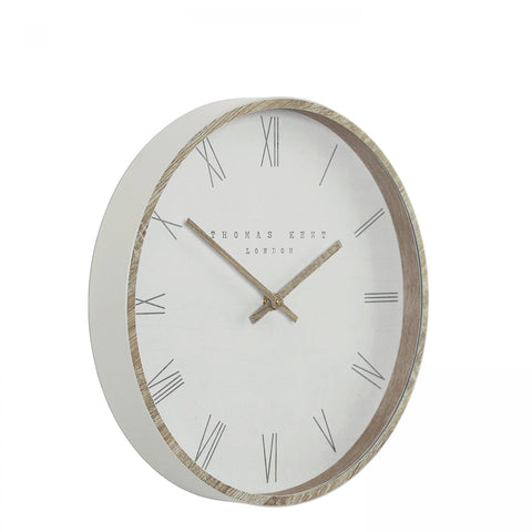 "Thomas Kent 12"" Nordic Wall Clock Tofu"
