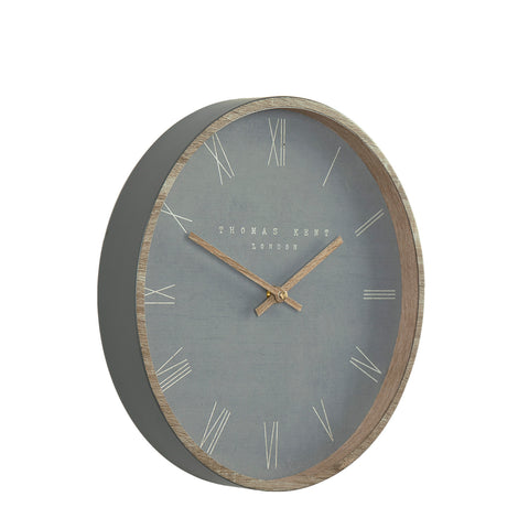 "Thomas Kent 12"" Nordic Cement Wall Clock"