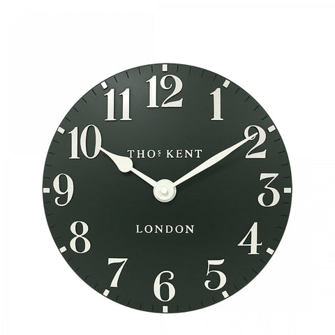 "Thomas Kent 12"" Arabic Forest Wall Clock"