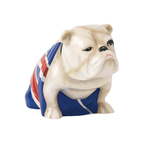 Royal Doulton Jack The Bulldog Porcelain Model - No Time To Die 007