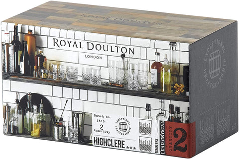 Royal Doulton 40032734 R&D Collection D.O.F Set of 2