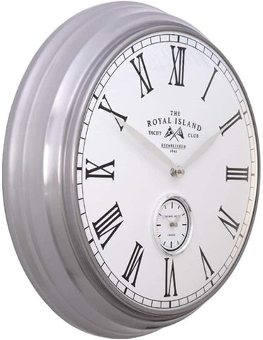 "Thomas Kent 19"" Greenwich Timekeeper Wall Clock Royal Island"