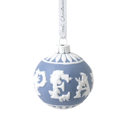 Wedgwood Christmas 2020 Peace Bauble Ornament