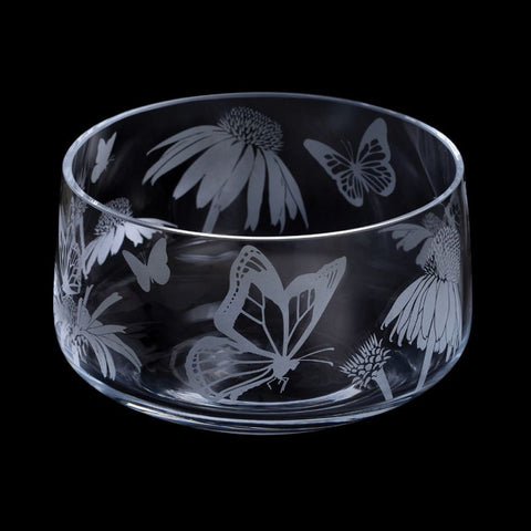 Dartington Crystal Aspect Butterflies Bowl