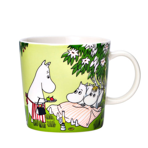 Moomin Relaxing Mug and Plate Set - Ltd Ed Set Summer 2020
