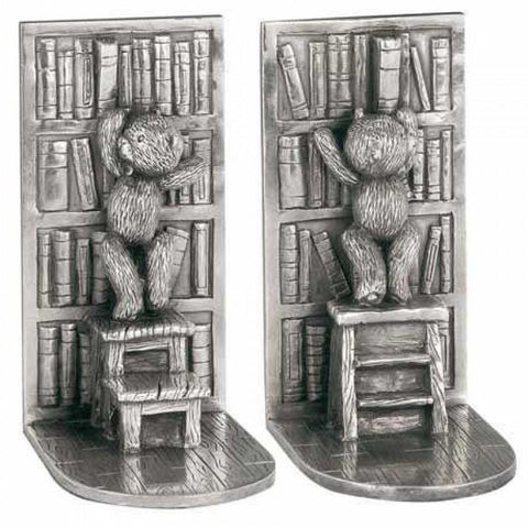 Royal Selangor Pewter Teddy Bear Library Bookends