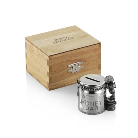 Royal Selangor Pewter Coin Box Money Jar in Gift Box