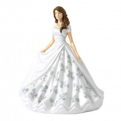 Royal Doulton - Birthstone Petites Lady Figure April, Diamond