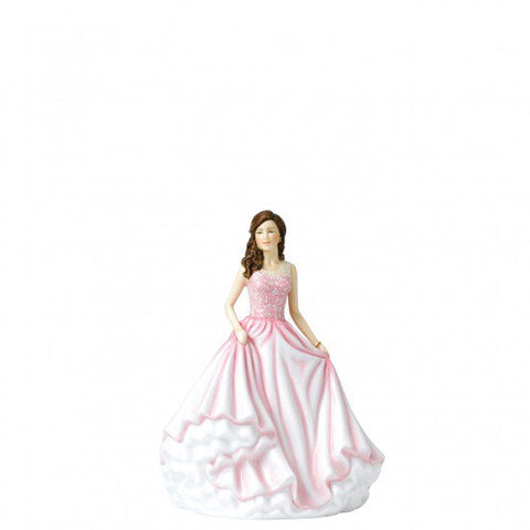 Beautiful Charm Figurine by Royal Doulton Part of the Sentiments Range