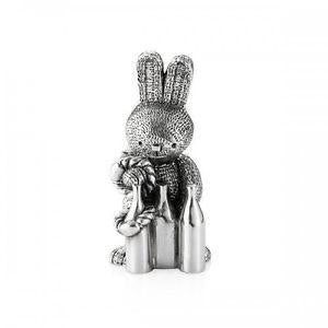 Royal Selangor Pewter Kit Figurine - Bunnies Day Out Collection