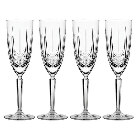 Waterford Crystal Marquis Sparkle Champagne Flutes set of 4