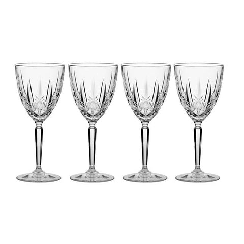 Waterford Crystal Marquis Sparkle Wine Glass set of 4