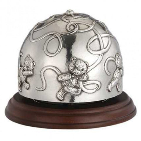 Royal Selangor Pewter Teddy Bears Picnic Music Carousel