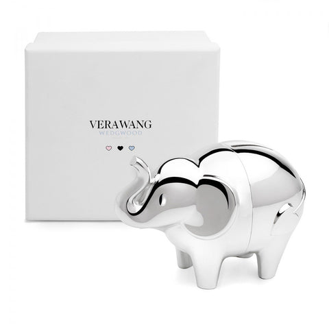 Wedgwood Vera Wang Love Always Elephant Money Bank