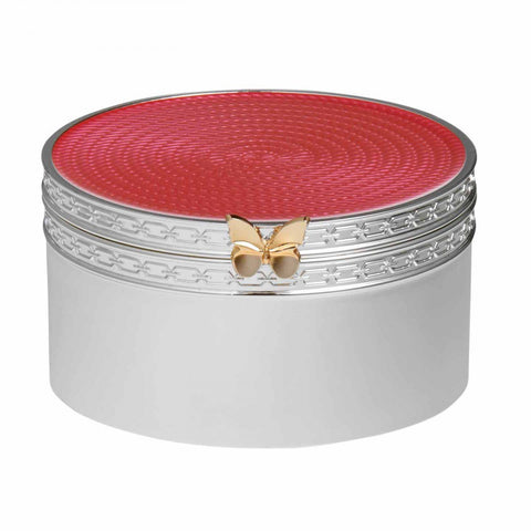 Vera Wang With Love Treasures Pink Butterfly Treasure Box