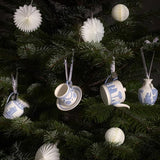 Wedgwood Christmas 2019 Iconic Cup and Saucer Decoration / Ornament