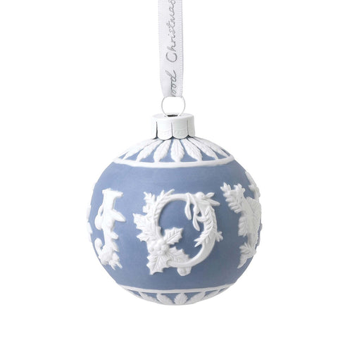 Wedgwood Christmas 2020 Joy Bauble Ornament